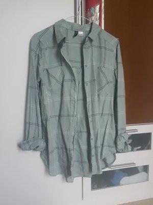 Karrierte oversize Bluse