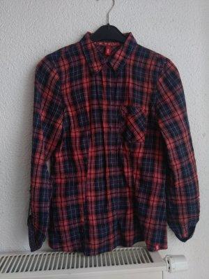 Karrierte/s Bluse/Hemd