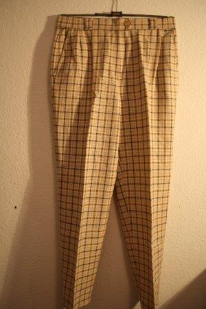 Karrierte Vintage Highwaist Hose von Delmod