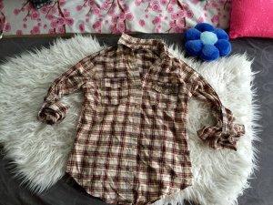 Amisu Camicia da boscaiolo multicolore