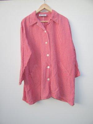 karriertes Hemd rot Vintage Retro Tracht Gr. 50/52 oversize