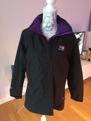 Coupe-vent noir-violet foncé