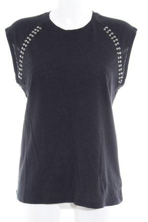 KARSSEN Tank Top black street-fashion look