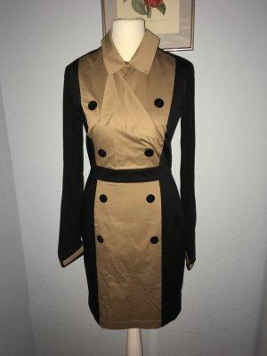Karstadt Coat Dress camel-black