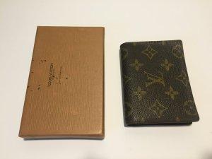 Louis Vuitton Portefeuille brun sable-brun noir