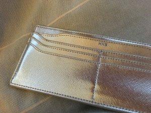 Kartenetui in Silber als Innentasche für Handtasche