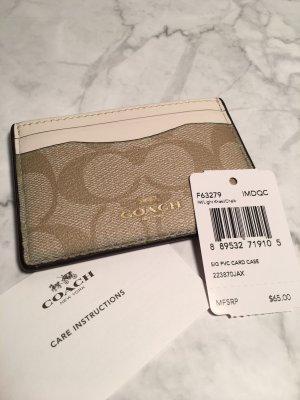 Kartenetui von Coach neu Portemonnaie Cardholder