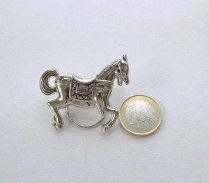 Karussellpferd Brosche Tuchclip