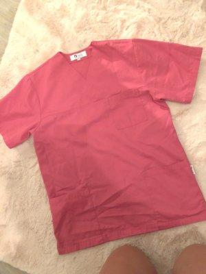 clinic+job dress Camisa larga rosa