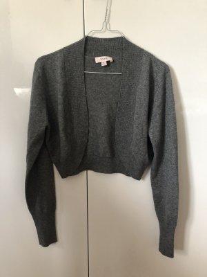 Laurèl Boléro en tricot gris-gris clair
