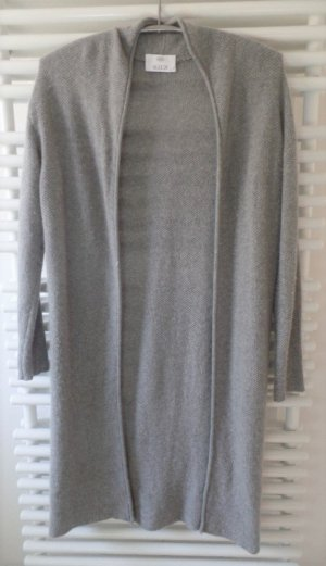 Allude Knitted Cardigan grey