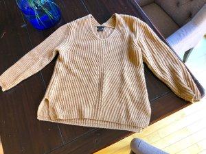 Kaschmir / Cashemere Pullover mit V-Ausschnitt