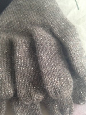 1.2.3 Paris Knitted Gloves taupe