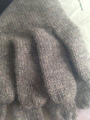 1.2.3 Paris Gants en tricot taupe