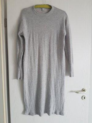 Kaschmir Kleid grau