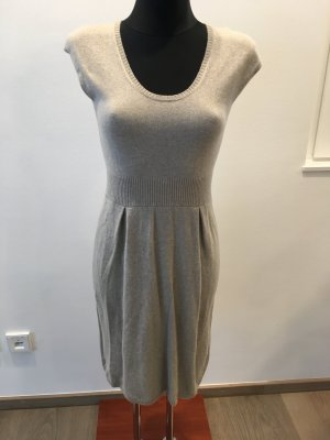 Allude Knitted Dress oatmeal-beige