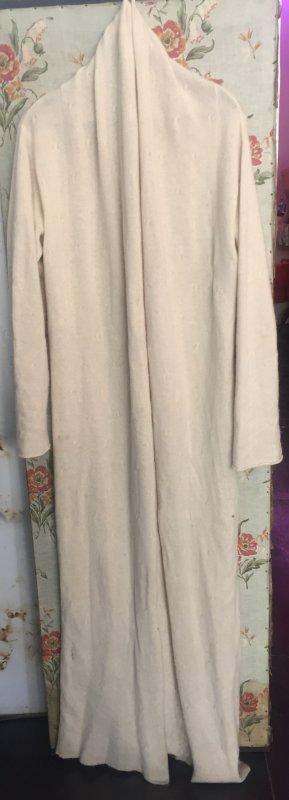 Rau Berlin Abrigo de punto blanco puro Cachemir