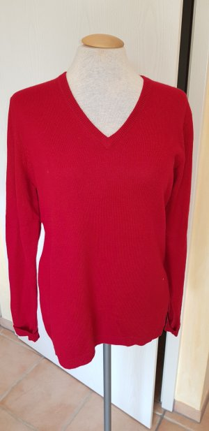 Blue Motion Sweater dark red