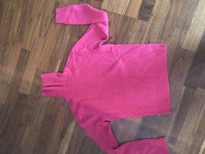 Kaschmir Pullover Knall pink S 100% caschmere