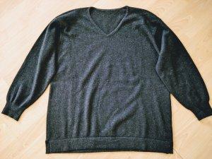 Kaschmir Pullover schwarz XL