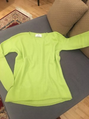 Allude Cashmere Jumper meadow green