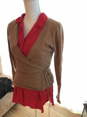 Jag of Zoeppritz Pull en cashemire brun-chameau