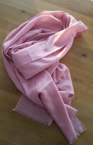 Cashmere Scarf light pink cashmere