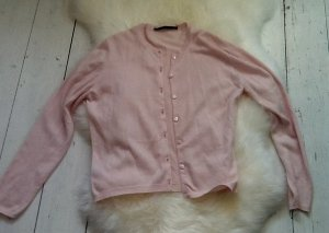 Cashmere Knitted Twin Set pink cashmere