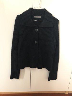 FFC Coarse Knitted Jacket black