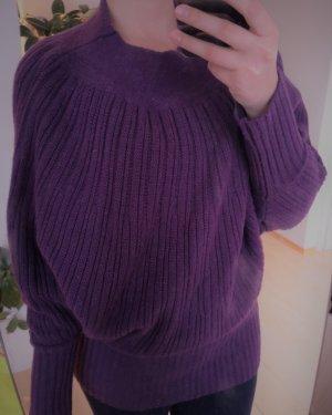 Kaschmir-Woll Pullover von Heine in lila