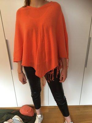 Poncho oranje-zalm