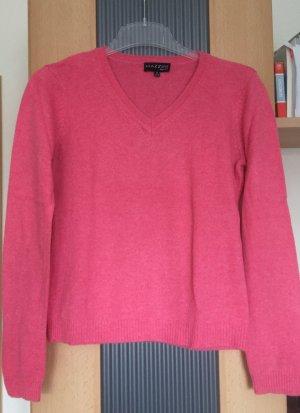 Kaschmirpullover in pink
