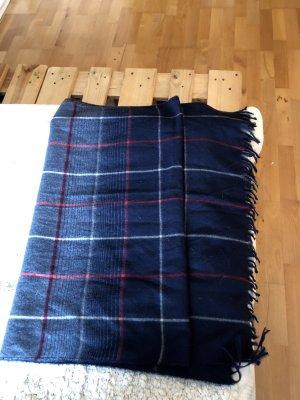Sjaal van kasjmier blauw