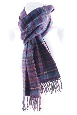 Sjaal van kasjmier geruite print Britse uitstraling