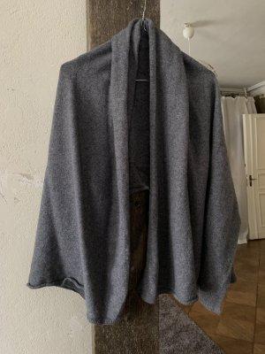 Zara Écharpe en cachemire gris