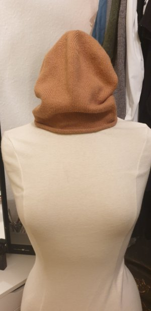 Pieces Knitted Hat sand brown