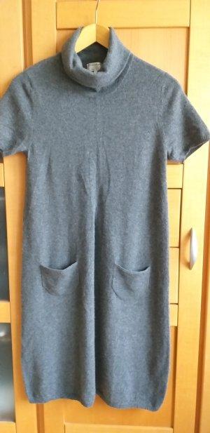 Peter Hahn Wollen jurk grijs Kasjmier
