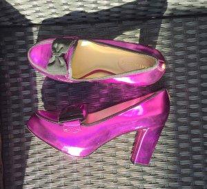 Kat Maconie Metallic-Pumps pink Gr 39