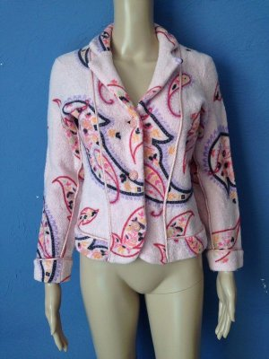 Wool Blazer light pink-pink mixture fibre