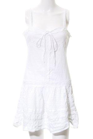 Kate Moss Kanten topje wit romantische stijl
