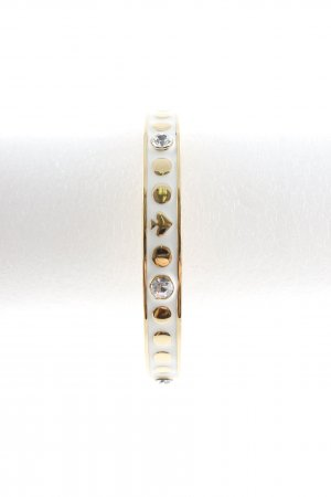Kate Spade Bangle gold-colored-white casual look