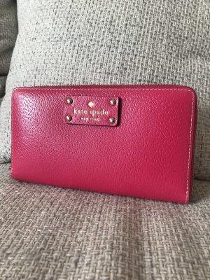 Kate Spade Portefeuille rouge framboise-magenta