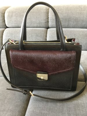 Kate Spade Handtasche schwarz/Aubergine