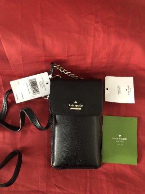 Kate Spade Mobile Phone Case black leather