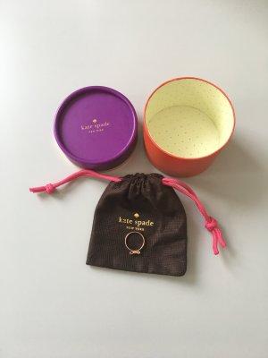 Kate Spade Anillo color rosa dorado