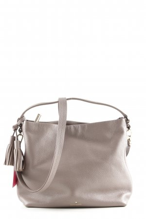 Kate Spade Schultertasche hellgrau Business-Look