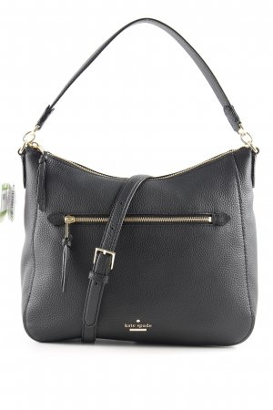 "Kate Spade Sac porté épaule ""Quincy Hobo Bag Black"" noir"