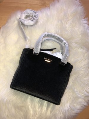 Kate Spade Carry Bag black-gold-colored