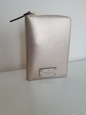 Kate Spade Custodie portacarte color oro rosa-rosa pallido Pelle