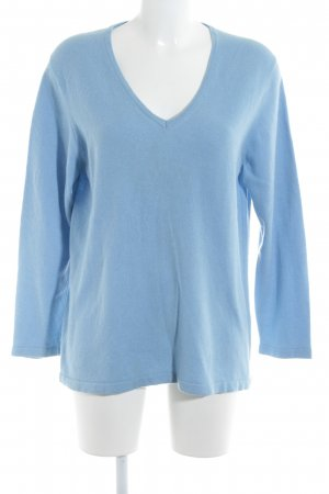 kate storm Cashmerepullover himmelblau Casual-Look